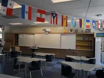 Inside S Wing Classroom
